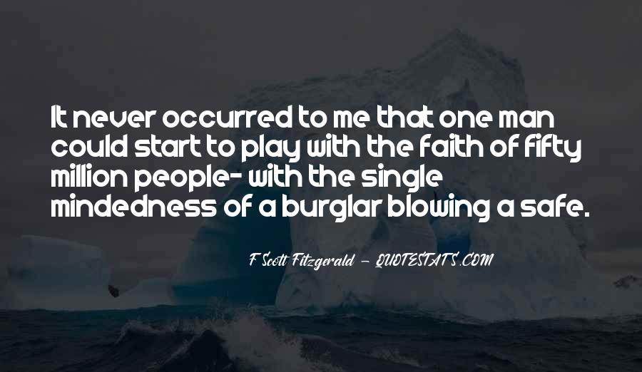 Burglar Quotes #1041024