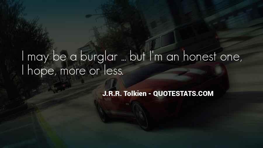 Burglar Quotes #1417890