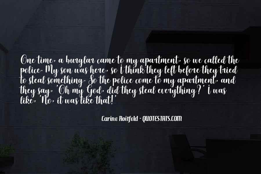 Burglar Quotes #1435188