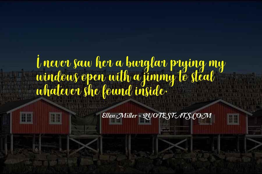 Burglar Quotes #1553279