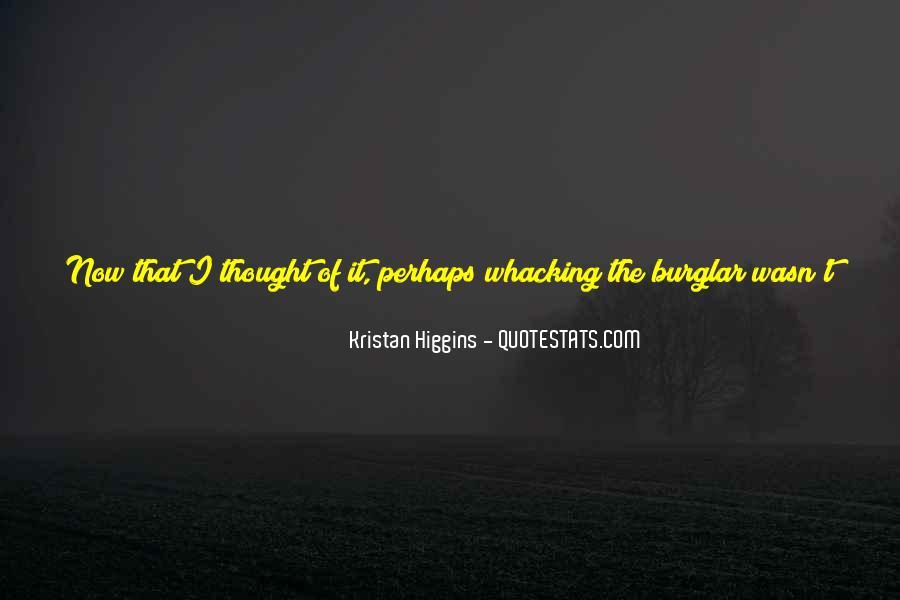 Burglar Quotes #162297