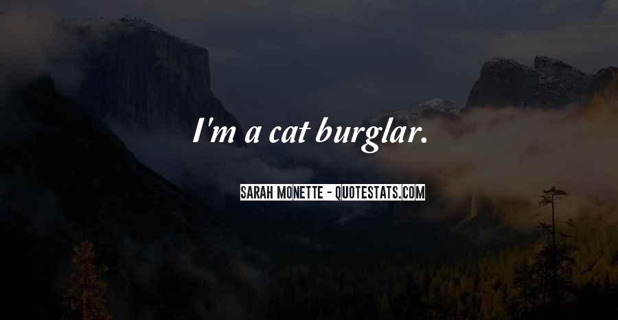 Burglar Quotes #1648730