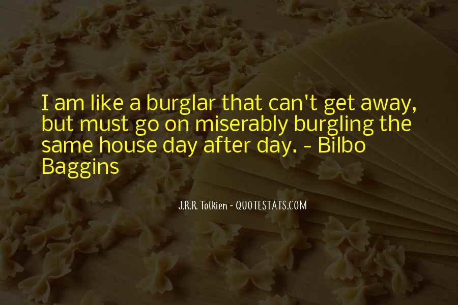 Burglar Quotes #1834705