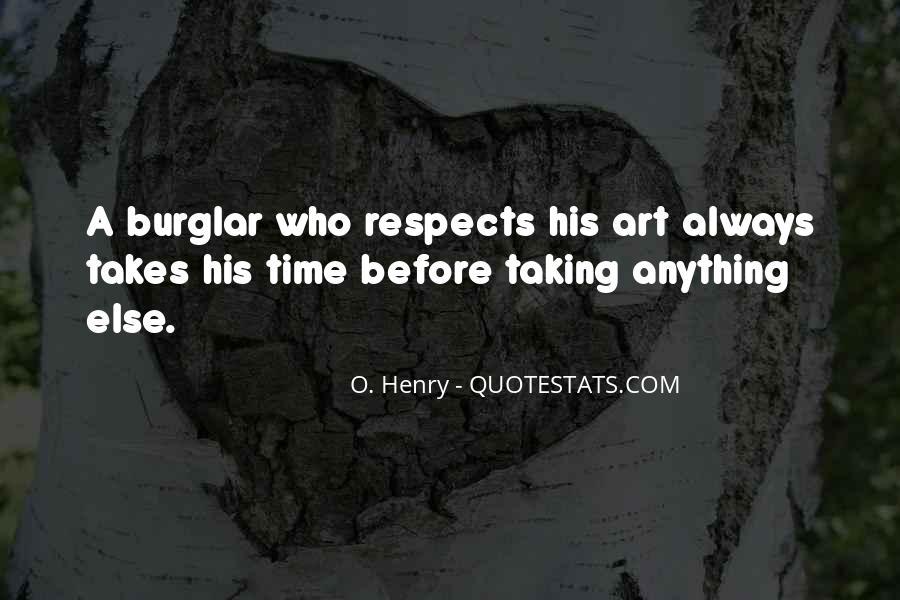 Burglar Quotes #1843394