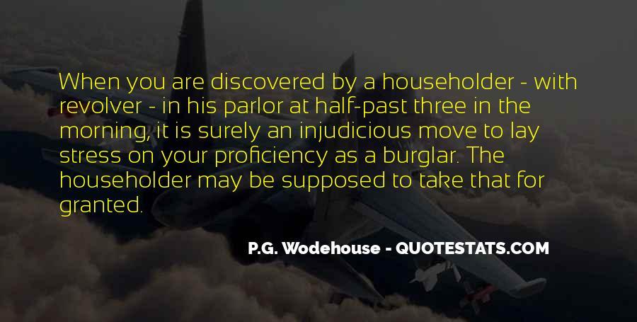 Burglar Quotes #1857225