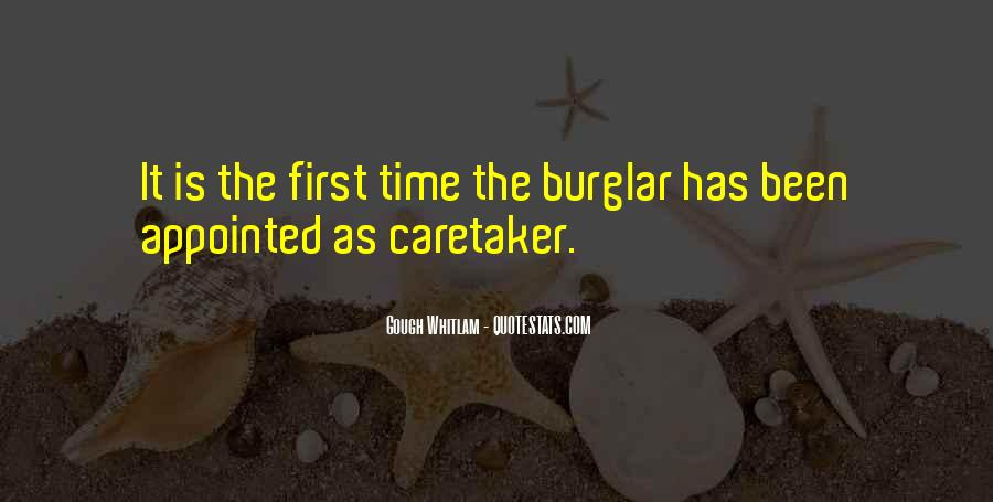 Burglar Quotes #422561
