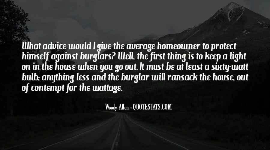 Burglar Quotes #536470