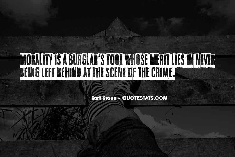 Burglar Quotes #602294