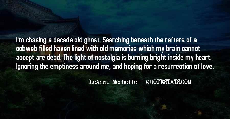 Burning Memories Quotes #1642605