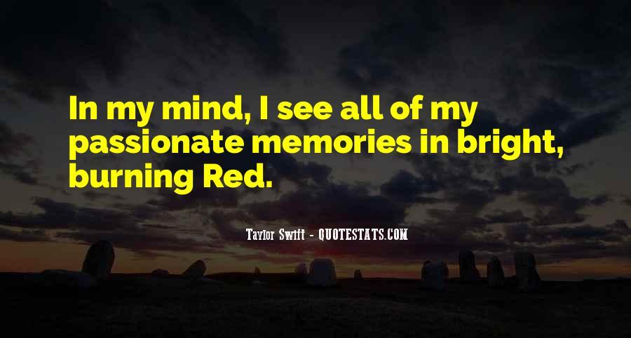 Burning Memories Quotes #470490