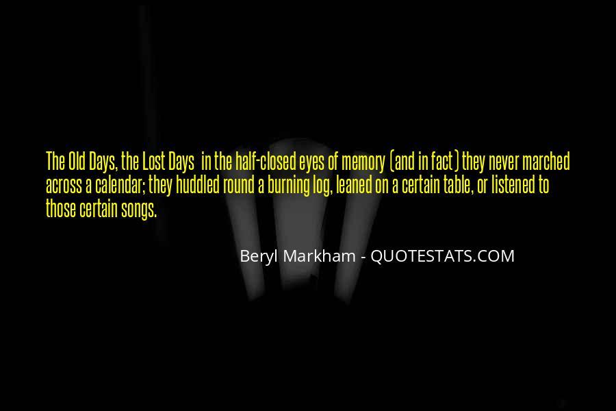 Burning Memories Quotes #663214