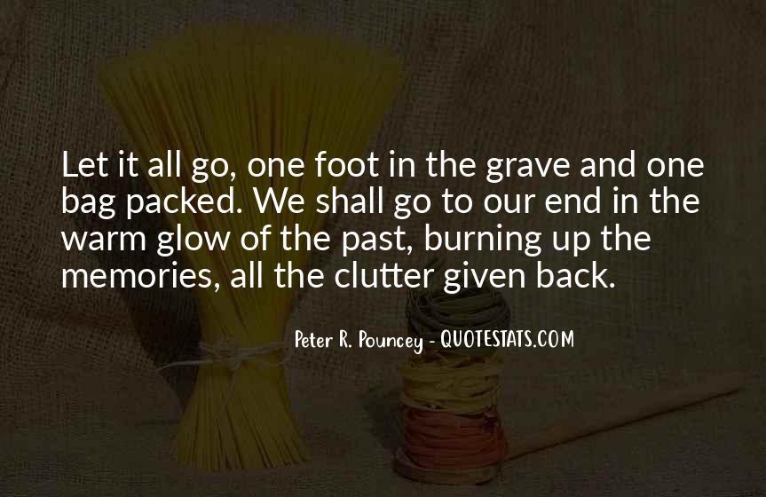 Burning Memories Quotes #844761