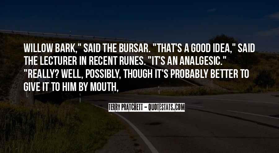 Bursar Quotes #115172