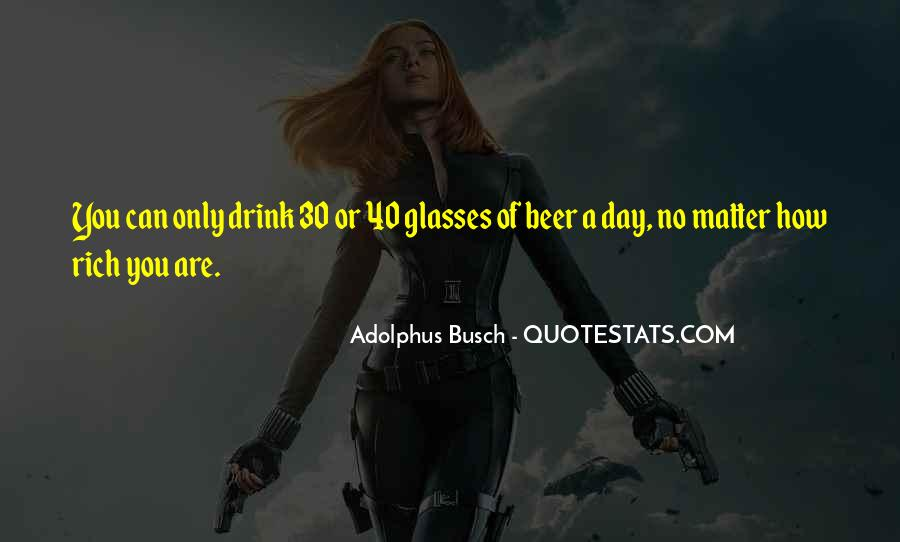 Busch Beer Quotes #645817