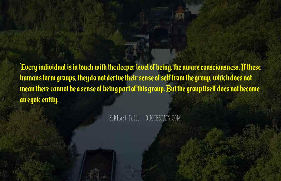 Quotes About The Sense Of Touch #1168647