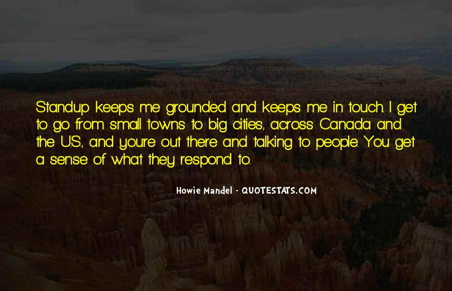 Quotes About The Sense Of Touch #1352235