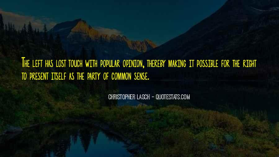 Quotes About The Sense Of Touch #355825