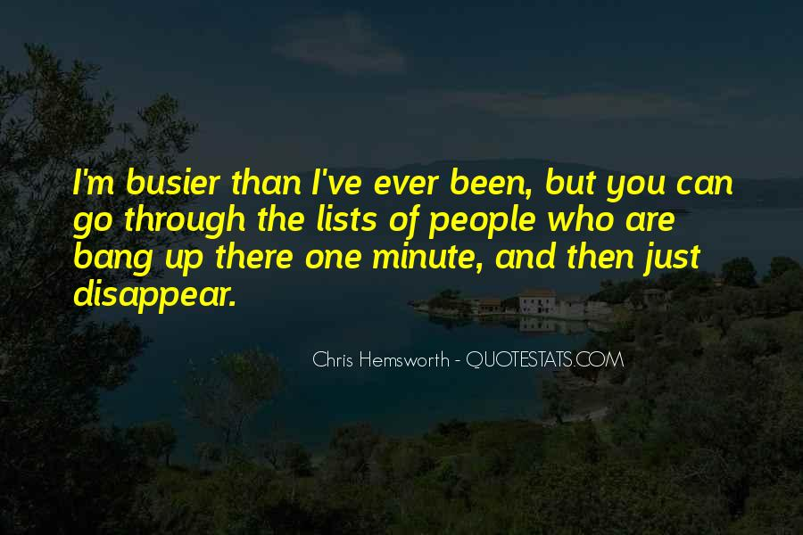 Busier Than Quotes #1358769