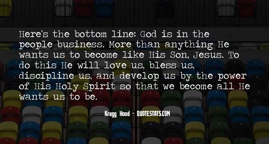 Business And God Quotes #118391