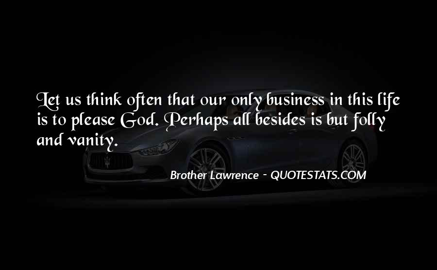 Business And God Quotes #159015