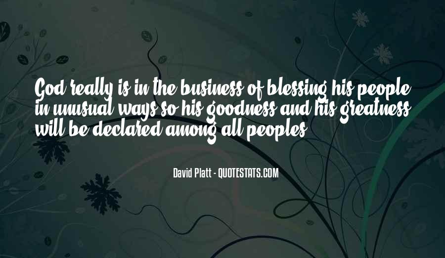 Business And God Quotes #316525