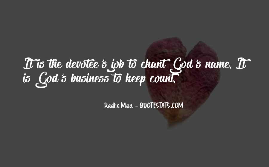 Business And God Quotes #359617