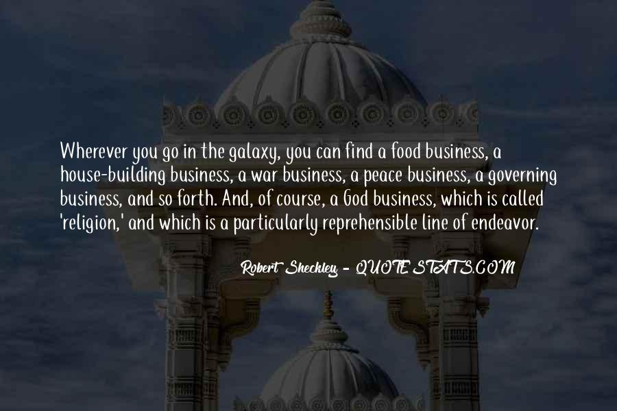 Business And God Quotes #716755