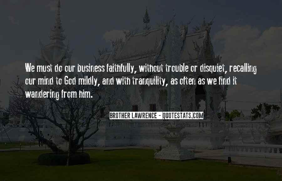 Business And God Quotes #823835