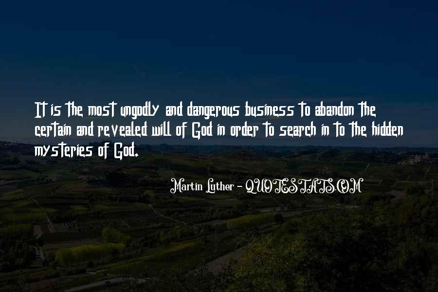 Business And God Quotes #872857