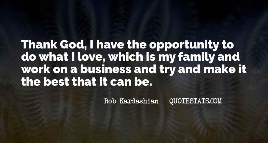 Business And God Quotes #895479