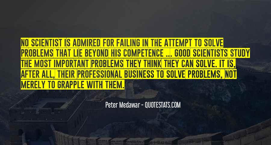 Business Competence Quotes #1069117