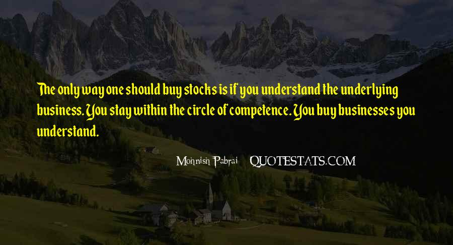 Business Competence Quotes #1194611