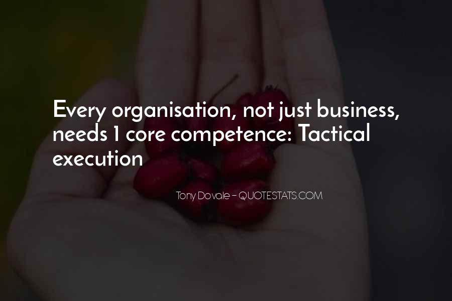 Business Competence Quotes #1827114