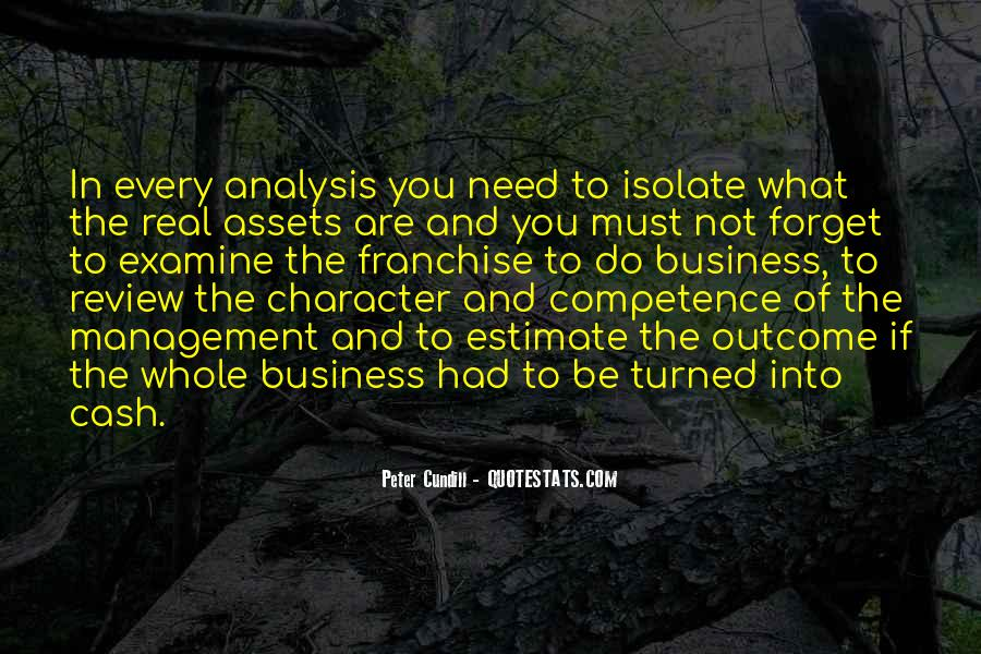 Business Competence Quotes #526745