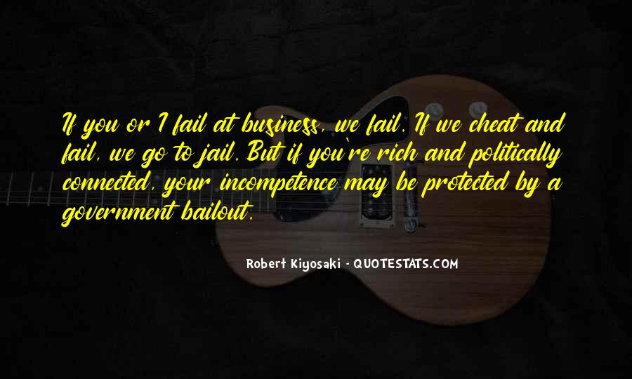 Business Incompetence Quotes #1117826