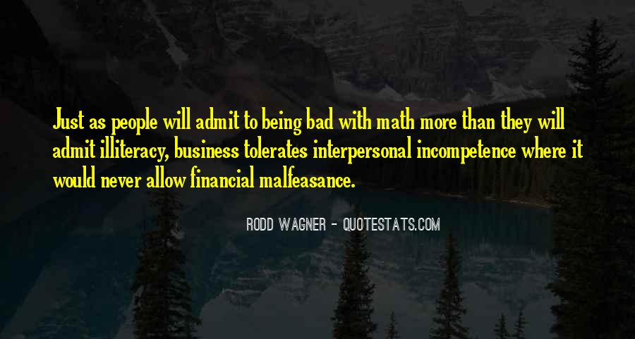 Business Incompetence Quotes #1676606