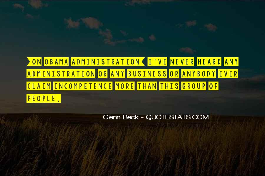 Business Incompetence Quotes #63106
