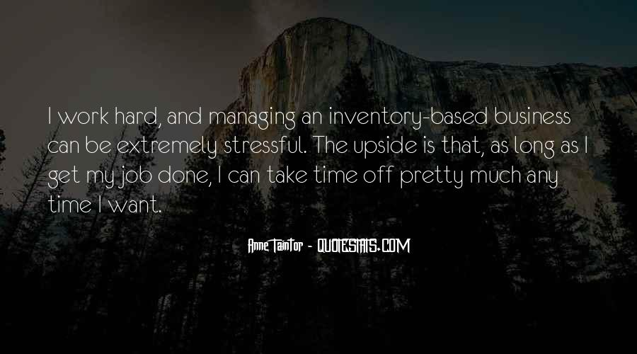 Business Inventory Quotes #13960