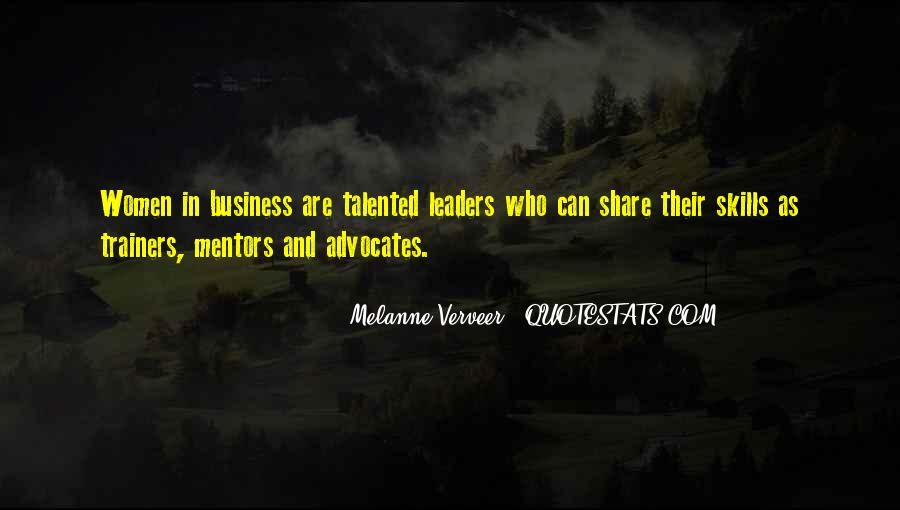Business Mentors Quotes #1229498