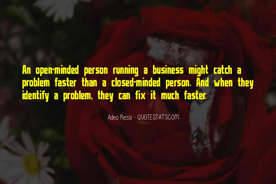 Business Open Minded Quotes #479243