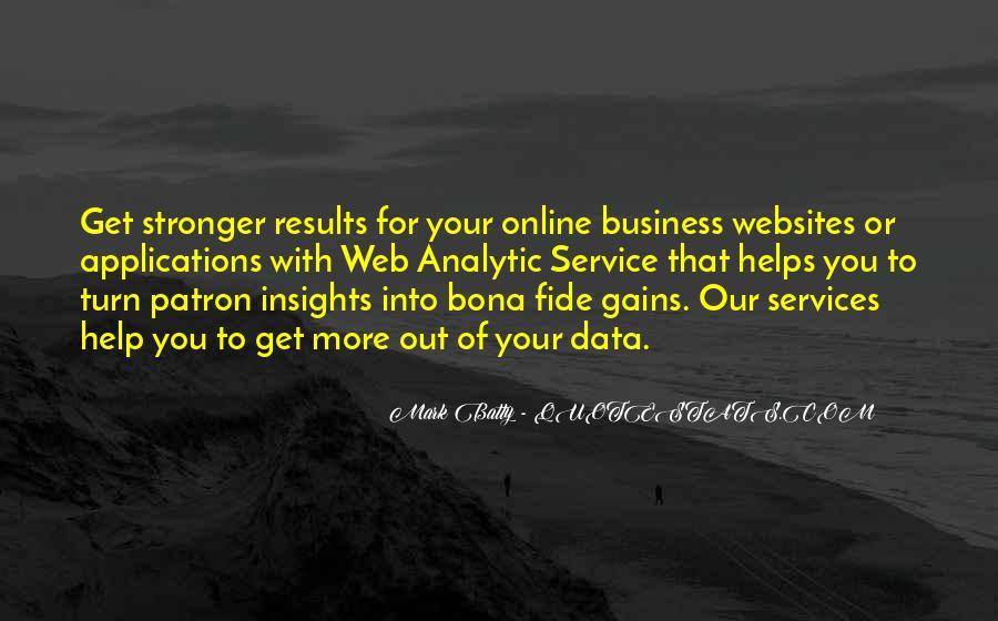 Business Results Quotes #1004702