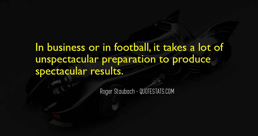Business Results Quotes #1319764