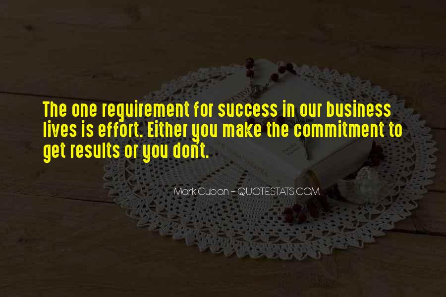 Business Results Quotes #1476356