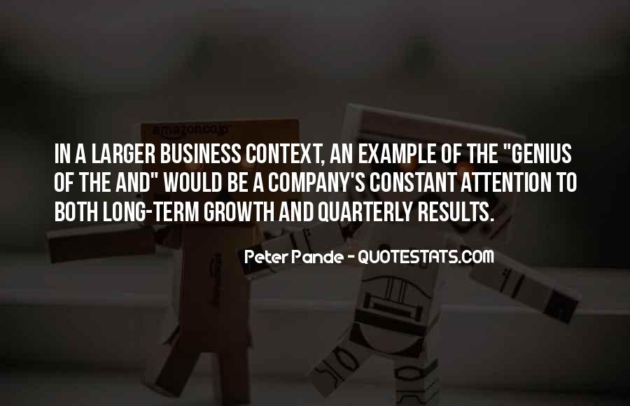 Business Results Quotes #1841563