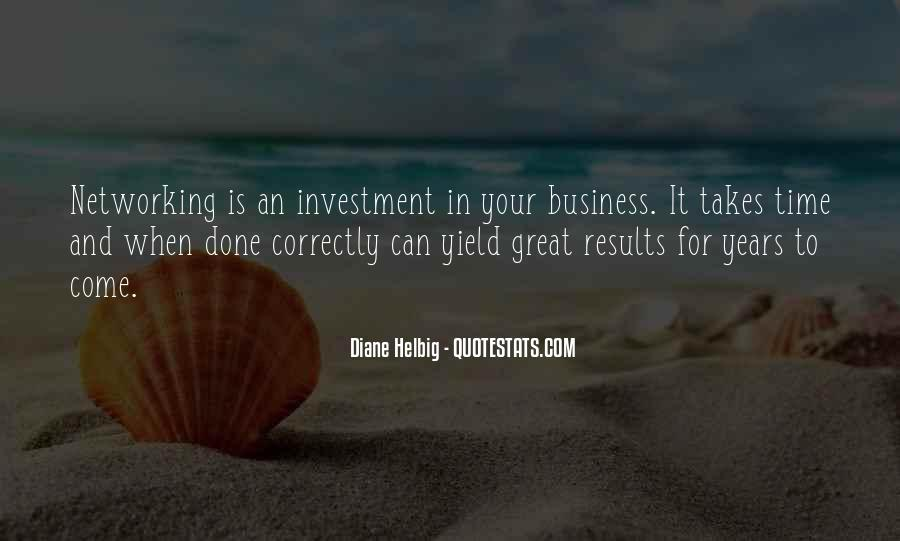 Business Results Quotes #356305