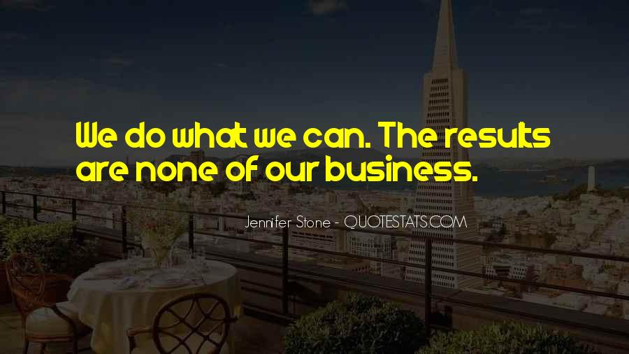 Business Results Quotes #658624