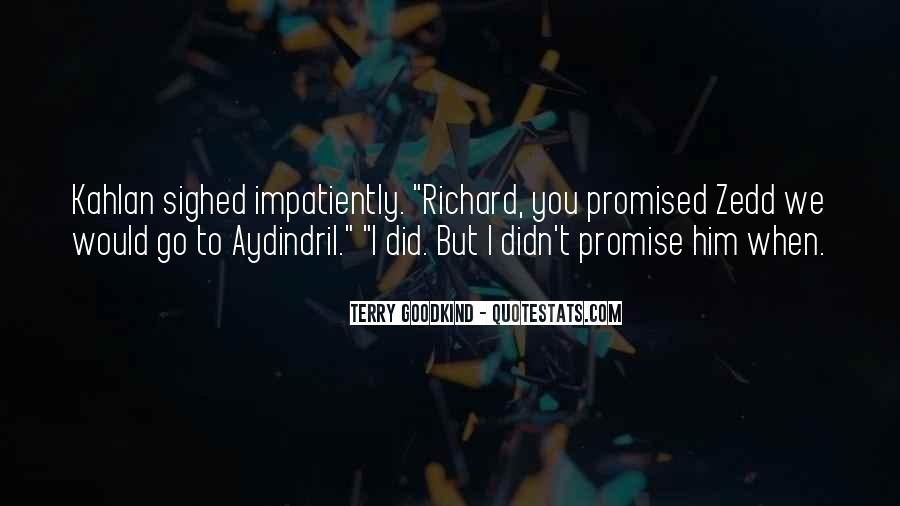 But You Promised Quotes #1327548