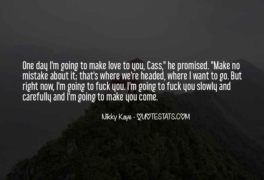 But You Promised Quotes #150826