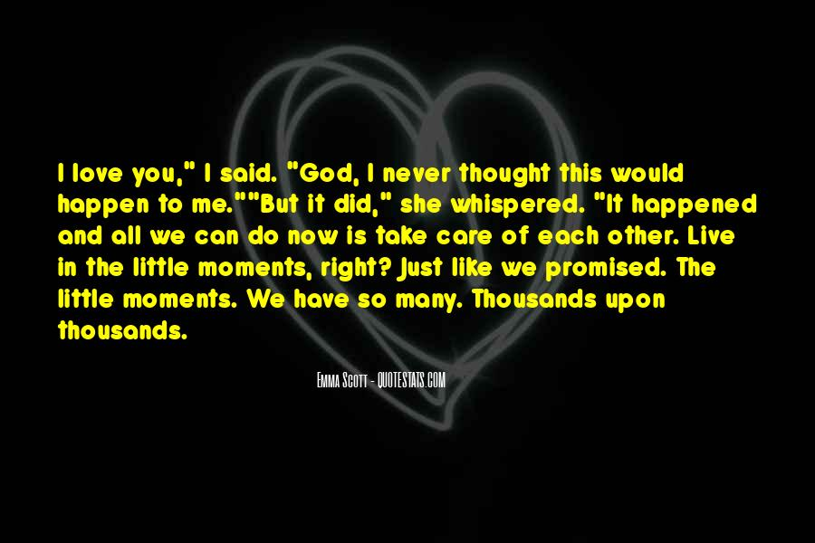 But You Promised Quotes #1627053