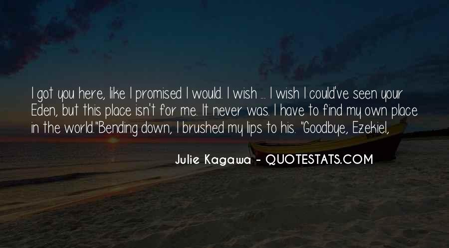 But You Promised Quotes #208058